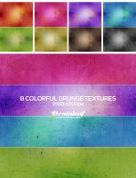 Colorful Gunge Textures 02 by Ransie3