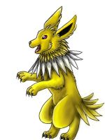 Happy Jolteon by pie-lord