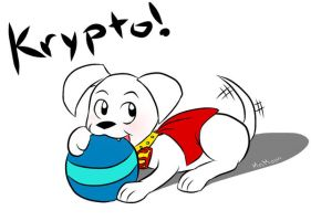 Krypto the Super Pupp by Melonie-Moon