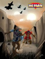 The hunt for Skeletor by MikeBock