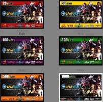 GAMECLUB ECOIN CARD STUDIES by vinvin1968