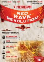 Red Rave Revolution by Radiatr