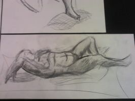 reclining figure by allhailinsanity