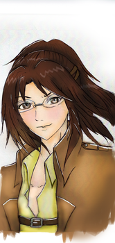 Hanji Zoe [ Self-Appointed Coloring Request ] by SophieStinsonRandom
