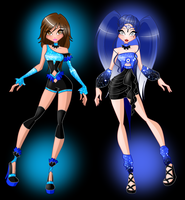 PRIZE: Constance and Artemia Angel Starz by SamoanVampCatt