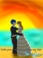 Azure And Hikage: with You I want to share my life by RunnerGuitar