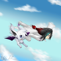 To the Sky .: Collab :. by xAuraSolarisx