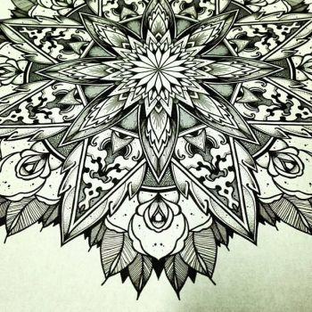 Solstice Mandala Project Day012 by OrgeSTC