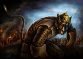 The new Mighty Hanuman_1 by venkatvasa