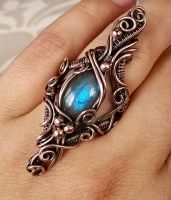 Baroque Passion Ring by Bodza