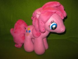 Pinkie Pie Plush by Nethilia