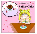 Sailor Cake and the Gluttony by Aerisblack