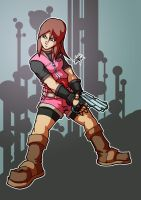 :claire redfield: by PoisonRemedy