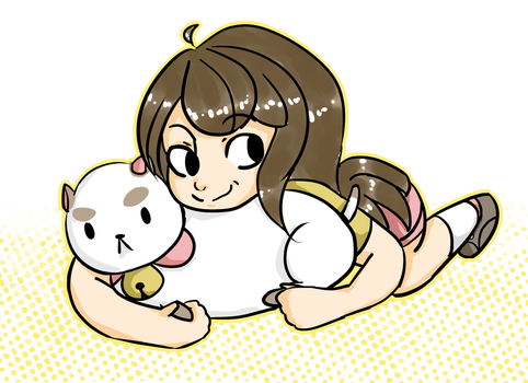 Bee and Puppycat by pandacreation