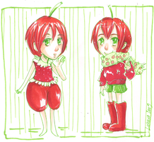 Cherry Twins by Teiyla