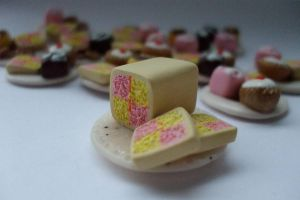 battenburg on a plate by babzR