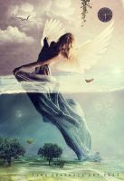 Angel fantastique by Tinss