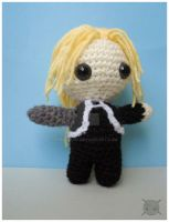 Edward Elric amigurumi v3.0 by pirateluv