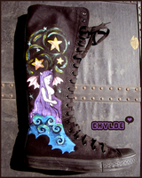 Succubus Knee High Chuck by Chylde