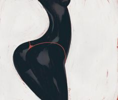 Red Thong by 1022