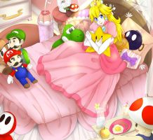 Princess Peach by Akari-dono