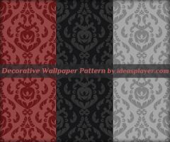Decorative Wallpaper Pattern by Ideasplayer