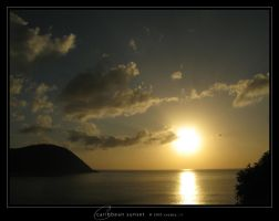 Caribbean Sunset by Crooty