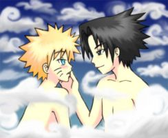 SasuNaru Captivated by CalmHillOfTreasures
