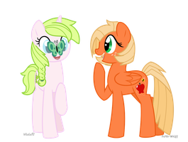 Anthea and Applebee by Faith-Wolff