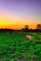Follow the Fence to HDR Paradise by PenguinPhotography