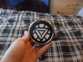 Ark reactor for my new iron man suit unlit by firebapx