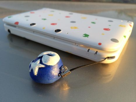 Animal Crossing Fossil Cell Phone or 3DS Charm by tacoroach