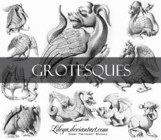 Grotesques by Lileya