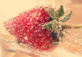 strawberry. by a-place4my-head