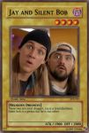 Jay and Silent Bob card by zdwag
