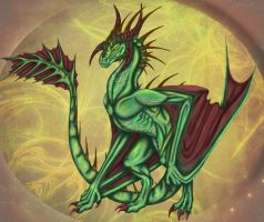 Wyvern Color by Airegon