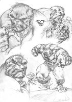Hulk Sketch by pant