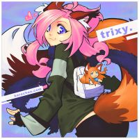 070826 trixy by bara-chan