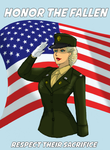 Freedom Captain Carol Briggs Memorial Day tribute  by johnnyharadrim