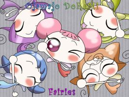Ojamajo DoReMi Fairies by ParanoidKitten