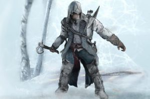 Connor - Assassins Creed 3 by Iceey23