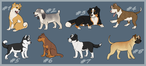 Puppy Point Adoptables2 CLOSED by TamHorse