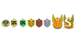SDG Badge Set by blazeraptor