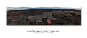 Kalapana Lava Flow 4 by extremeimageology