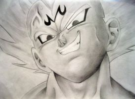 Majin Vegeta by TrunksJovi