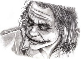 The Joker by Tinani