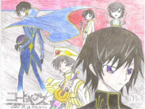 Lelouch of the Rebellion by Souseisekii