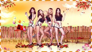 Sistar Touch my body ver.2 by Jover-Design
