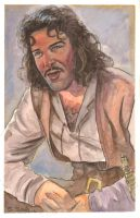 Inigo Montoya Watercolor by ssava