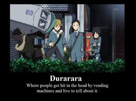 Durarara by Percylover33